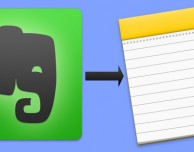 Ecco come migrare le proprie note da Evernote a Note Apple