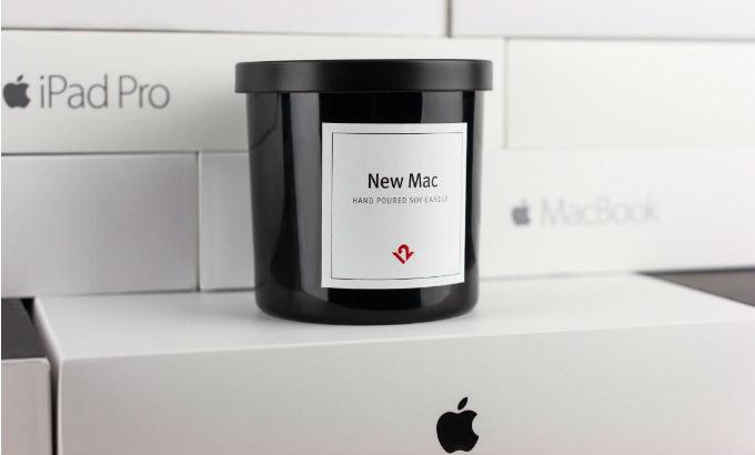 """Arriva la candela al profumo di """"Mac"""""""