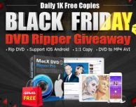 Black Friday Giveaway: Digiarty regala MacX DVD Ripper