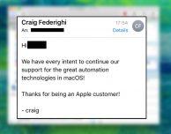 """Apple rassicura: """"Automator continuerà a vivere su macOS"""""""