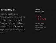 ArsTechnica fa chiarezza sull'autonomia dei MacBook Pro 2016