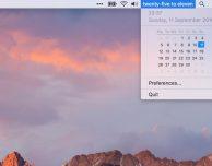 FuzzyTime: l'orario in formato testo nella barra dei menu del Mac