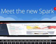 Il client mail Spark si aggiorna alla versione 1.2