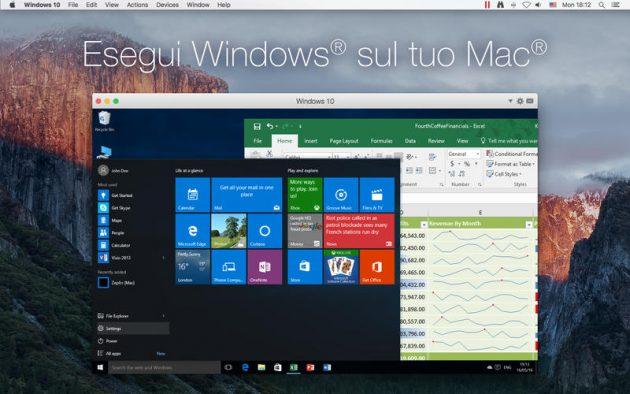 Esegui le applicazioni Windows