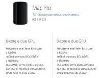 I nuovi Mac Pro 2013 sono disponibili su Apple Store online