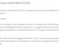 Apple rilascia macOS Sierra 10.12.5