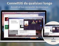 Accedi al Mac da remoto con Screens 4
