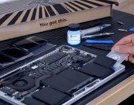 Come sostituire la batteria dei MacBook Pro