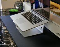 Stand in alluminio per MacBook di Aukey – RECENSIONE