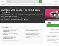 Diventare Web Designer in 30 ore: corso completo per neofiti (e non solo) in offerta a 29 €