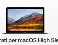 Come preparare il Mac all'arrivo di macOS High Sierra