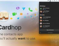 Dai creatori di Fantastical arriva Cardhop, splendida app per la gestione dei contatti