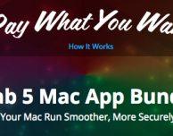 """Cinque ottimi programmi per Mac in offerta """"Paga quanto vuoi"""""""