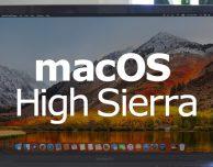 Apple rilascia una nuova versione di macOS High Sierra 10.13.2 Supplemental