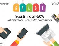 SALDI su BuyDifferent e TrenDevice: Sconti fino al -50% su Mac, Smartphone e Tablet Ricondizionati