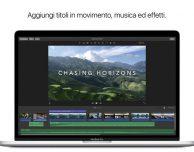 Apple aggiorna iMovie su Mac App Store