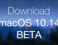 Apple rilascia macOS Mojave beta 4 PUBBLICA