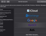 macOS Mojave abbandona l'integrazione con Twitter e Facebook