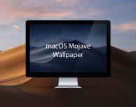 Ecco i nuovi wallpaper di macOS Mojave 10.14!