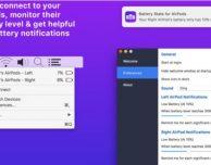 Battery Stats: il livello di carica AirPod sulla barra dei menu del Mac