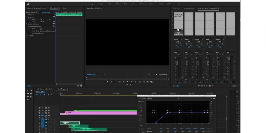 Adobe Premiere CC: un bug rovina gli altoparlanti di MacBook Pro