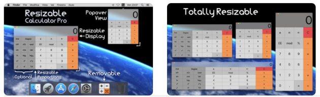 Calcolatrice Ridimensionabile: la calcolatrice per Mac come la vogliamo