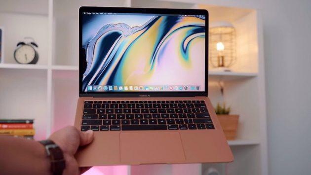 Apple aggiorna le specifiche tecniche del display dei MacBook Air 2018