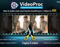 VideoProc: stabilizzare e modificare video in 4K – Giveaway