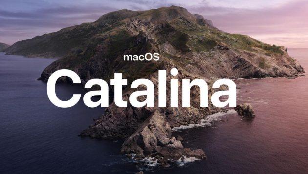 beta 4 di macOS 10.15 Catalina