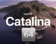 Catalina sta arrivando: controllate le app a 32 bit