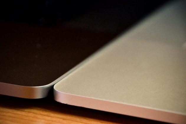 MacBook Pro 16 pollici - spessore