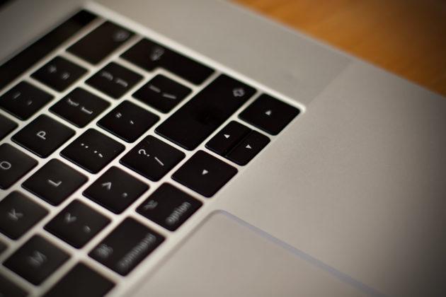MacBook Pro 16 pollici - tastiera 5
