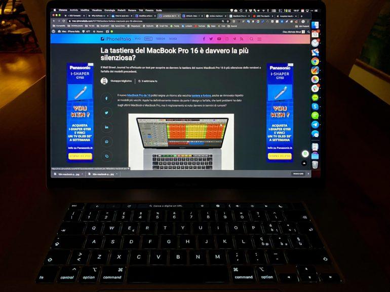schermo macbook
