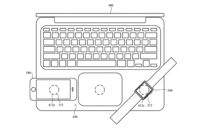 macbook ricarica wireless