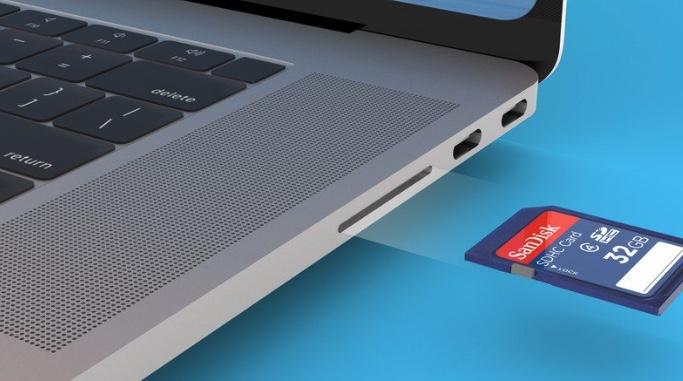 macbook pro scheda sd