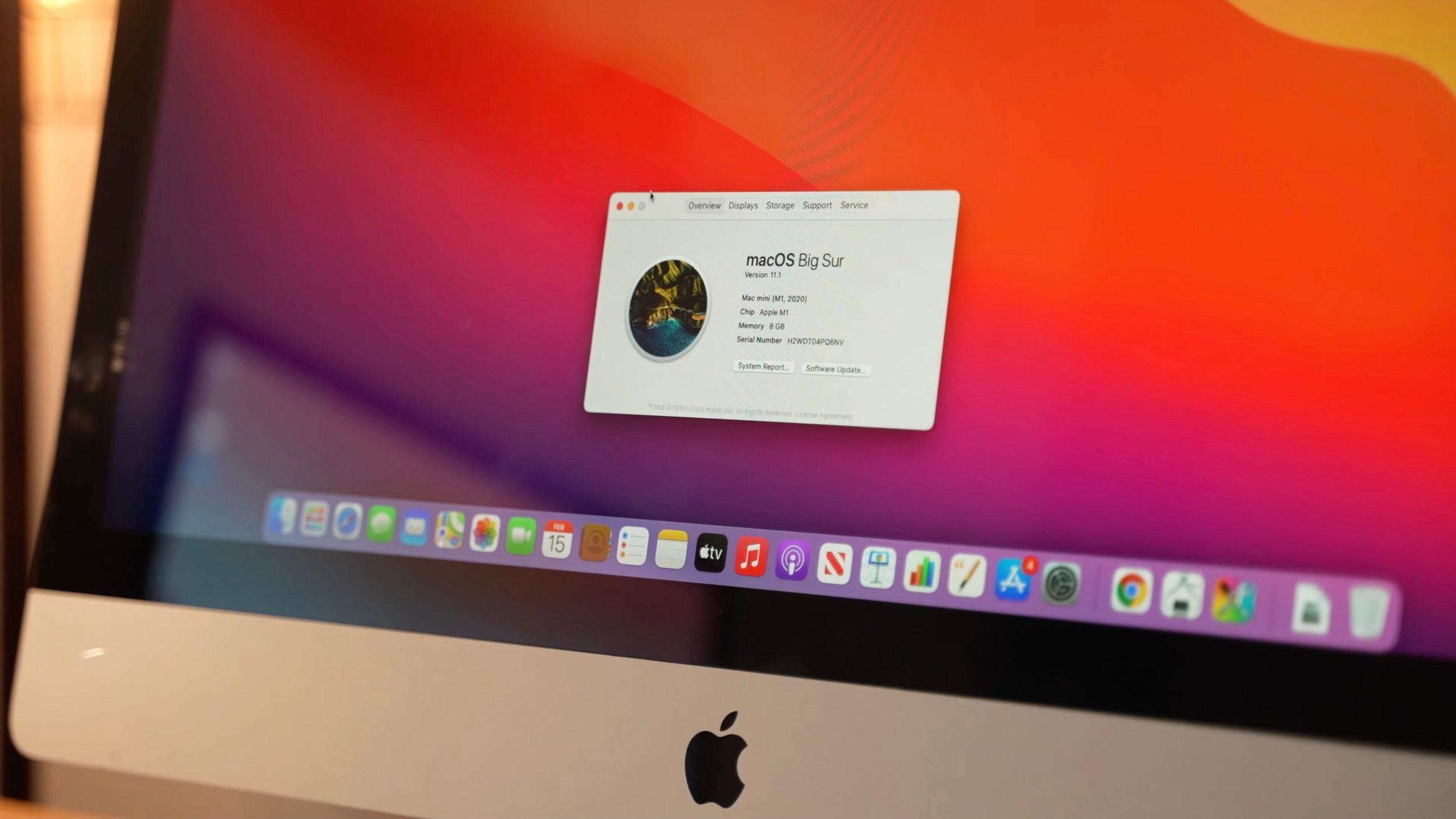 Il primo iMac M1 nasce da… un Mac Mini …