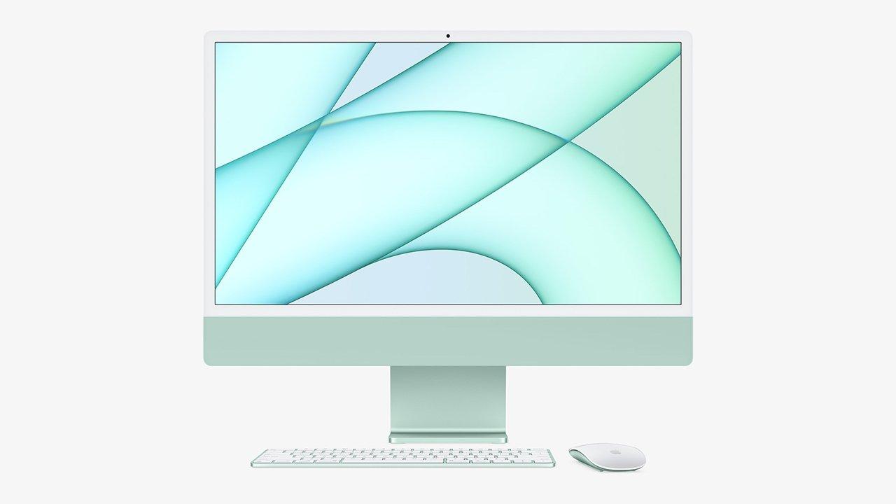 Ogni nuovo iMac avrà i suoi accessori abbinati per colore ...